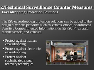 Eavesdropping Protection Solutions