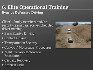 Evasive Defensive Driving
