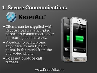 Secure Communications