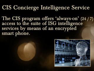 Concierge Intelligence Services